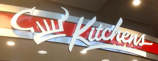 Kitchens signage