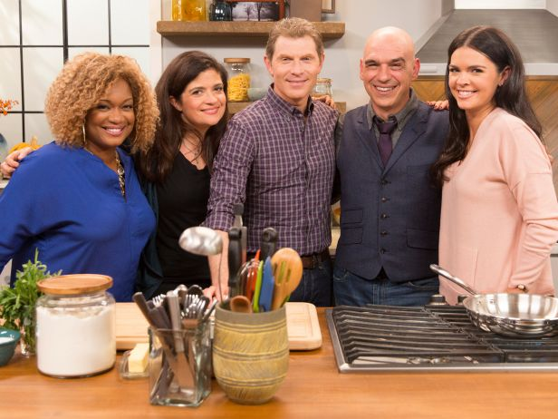 Food shows on tv food talk stl one of tvs most popular chefs bobby flay hosts thanksgiving at bobbys which premieres on saturday november 22 1100 am on food network forumfinder Images