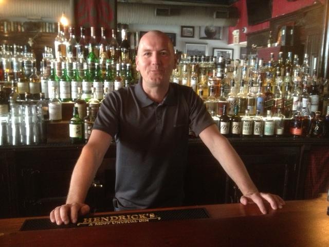 Alastair Nisbet at bar