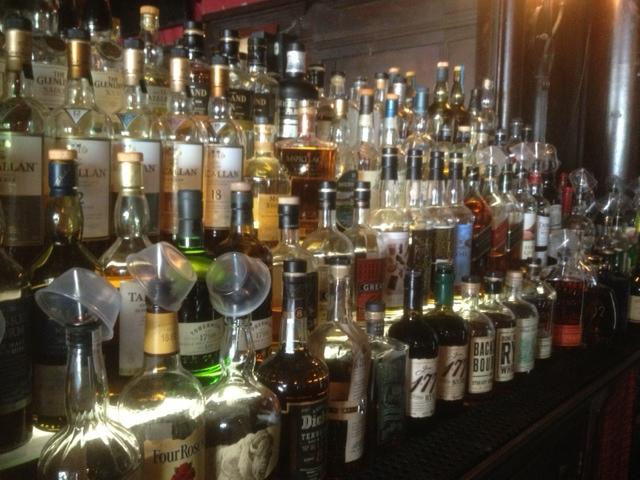 Scottish Arms bar