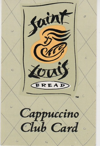 Cappuccino Club Card front