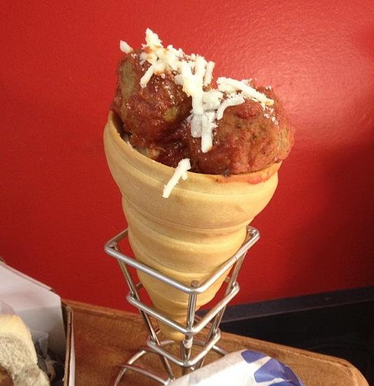 Meatball Cone